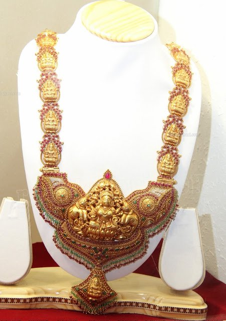 Lakshmi Heavy Temple Jewellery