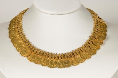 Gold Kasu Necklace