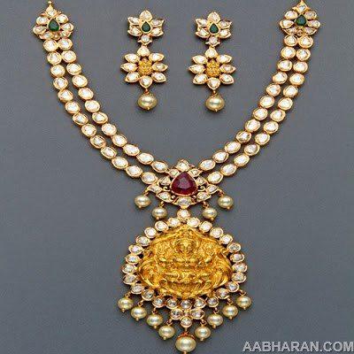 Polki Necklace sets from Mangatrai