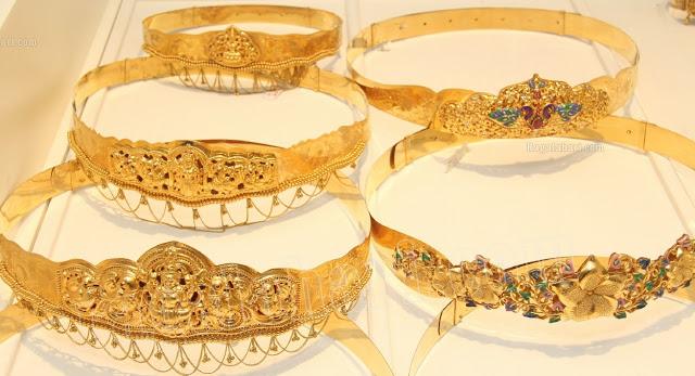 Gold Waist Belts
