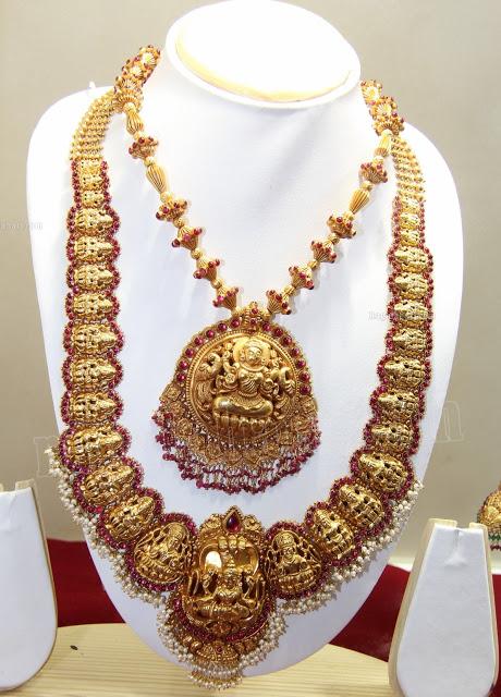 Antique Heavy Nakshi Jewellery