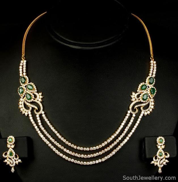 Diamond Necklace by VBJ