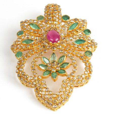 Uncut Diamond Pendant