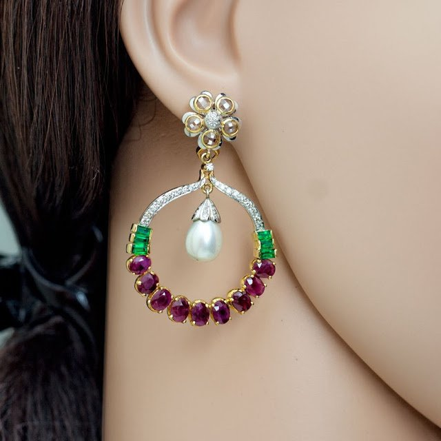Multi Color Chand Balis