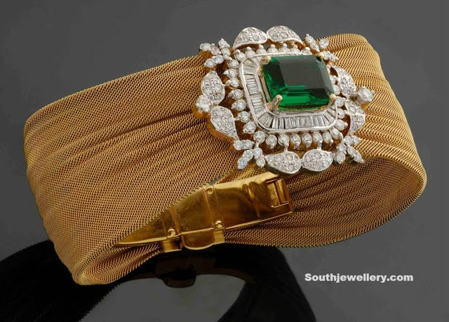 Stunning Diamond Bracelet by Sitara Jewellers