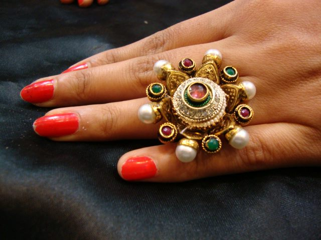 Beautiful Finger Rings by Chaahat Jewellery