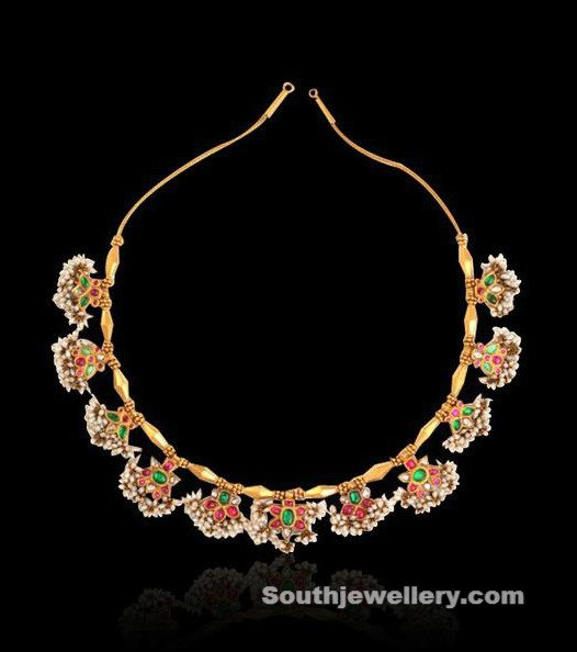 Antique Guttapusalu Necklace by NAC Jewellers
