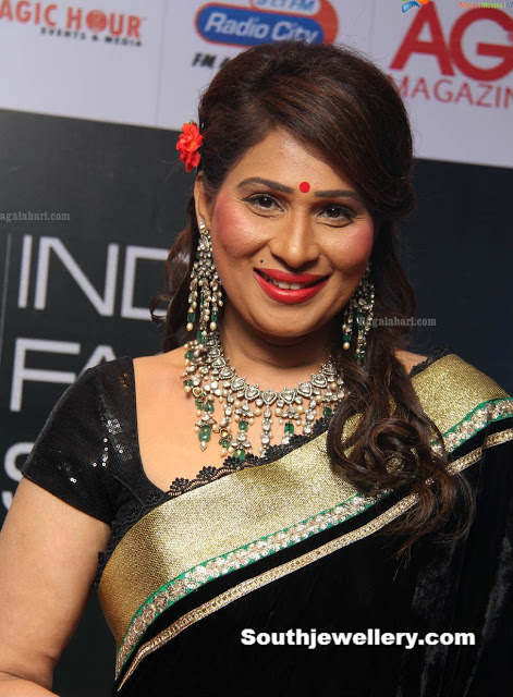 Sridevi Chowdary in Polki Necklace