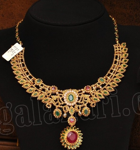 Uncut Diamonds Necklace by Malabar Gold