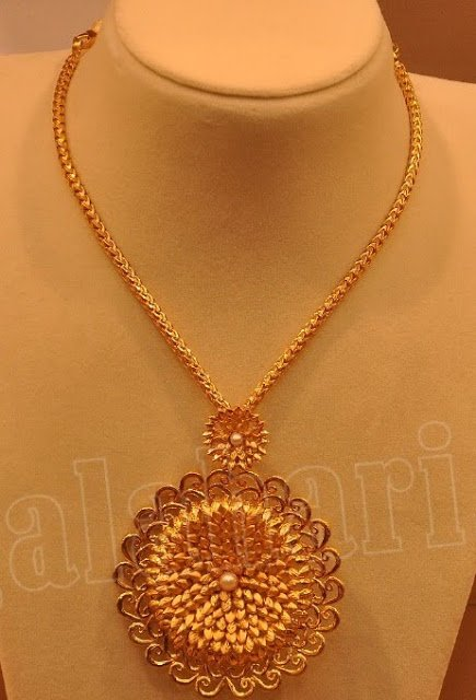 long design necklaces online jewellery a pendant set antique haaram necklace gold svtm indian