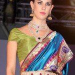 Model in Diamond Jewellery