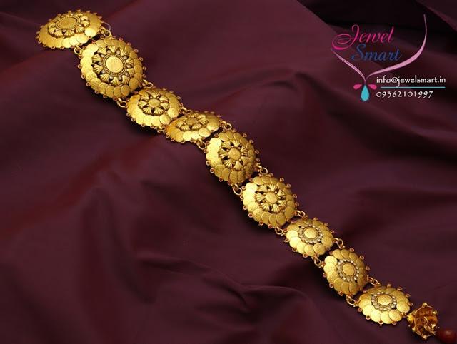 One Gram Gold Kasu Jada