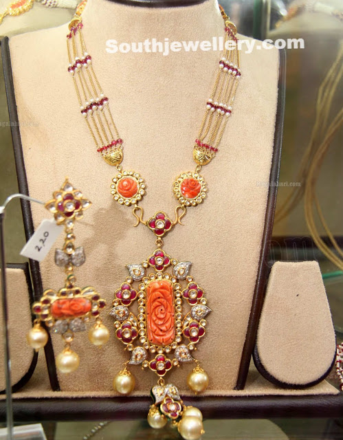 Fancy Long Chain with Corals