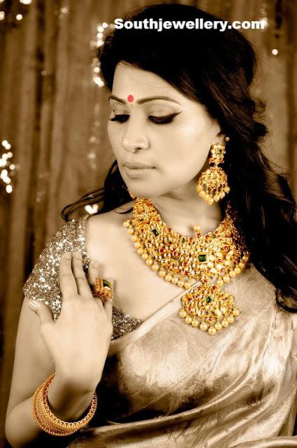 Nekkanti Shreedevi in MBS Jewellery