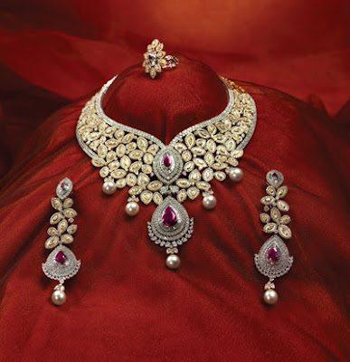 Bridal Kundan Necklace by TBZ