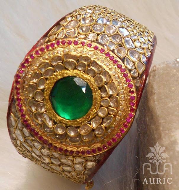 Stunning Pachi work Kada