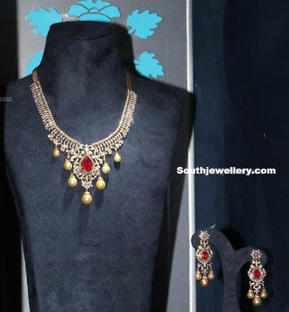 Diamond Necklace by CMR