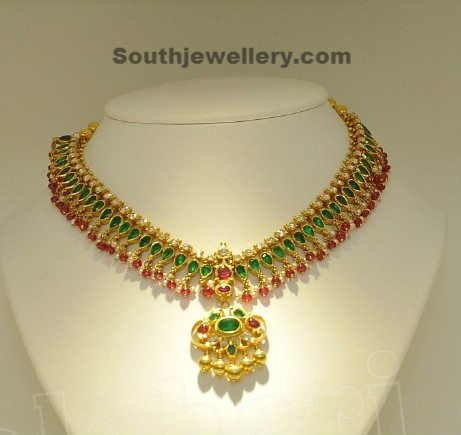 Emeralds Necklace