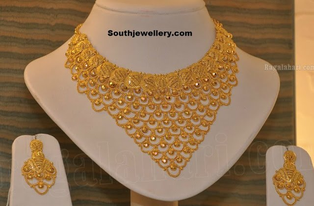 necklaces gold kt necklace in to hover zoom bridal by chains view kama gms jewellery yellow
