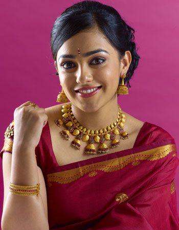 Nitya Menon in Traditional Jewellery