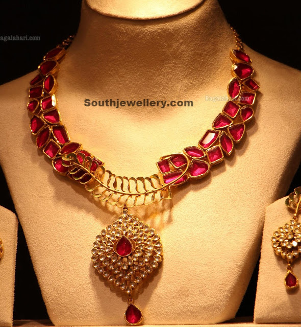 Ruby Necklace by CMR