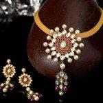 Sridevi Chowdary in Polki Necklace
