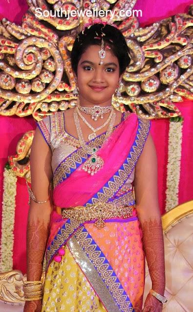 Anjali in Diamond Jewellery