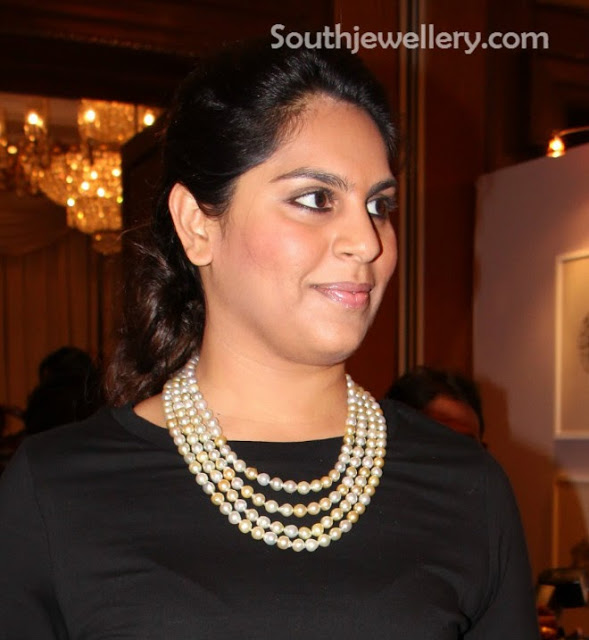 Upasna in Pearls Necklace
