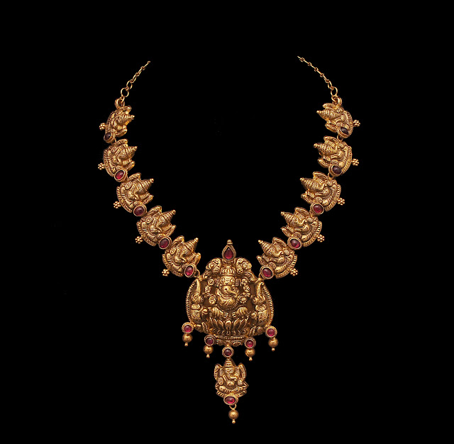 Ganesh Temple Necklace