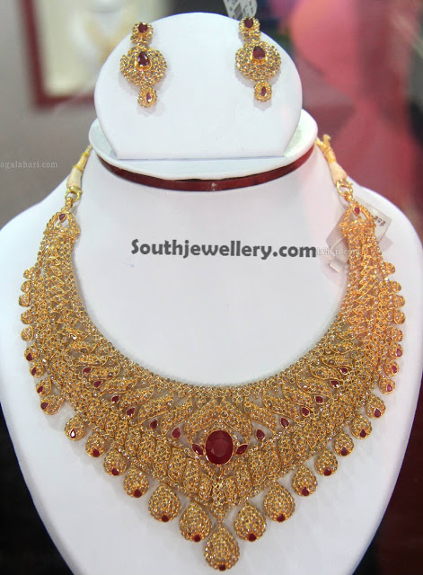 Bridal Uncut Diamond Necklace