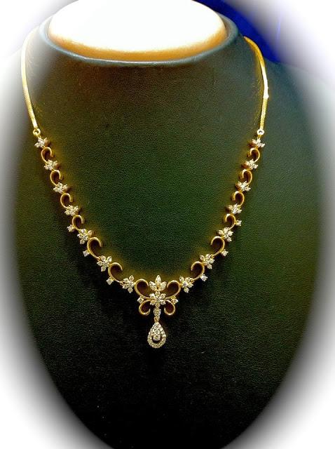White Gold Diamond Necklace Sale