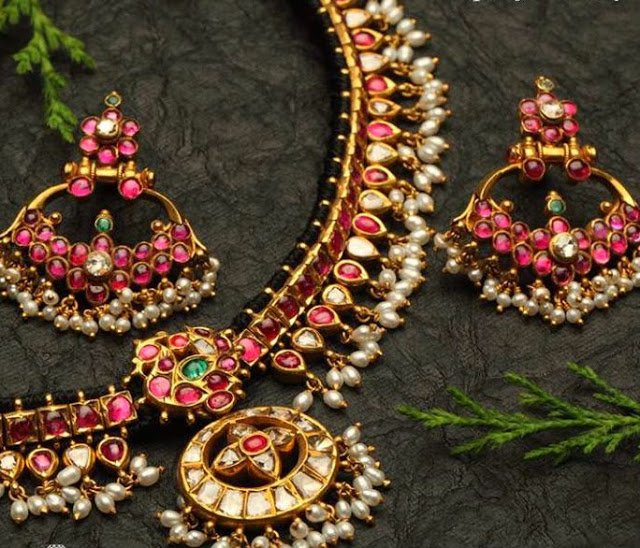 Ruby Necklace by NAC Jewellers