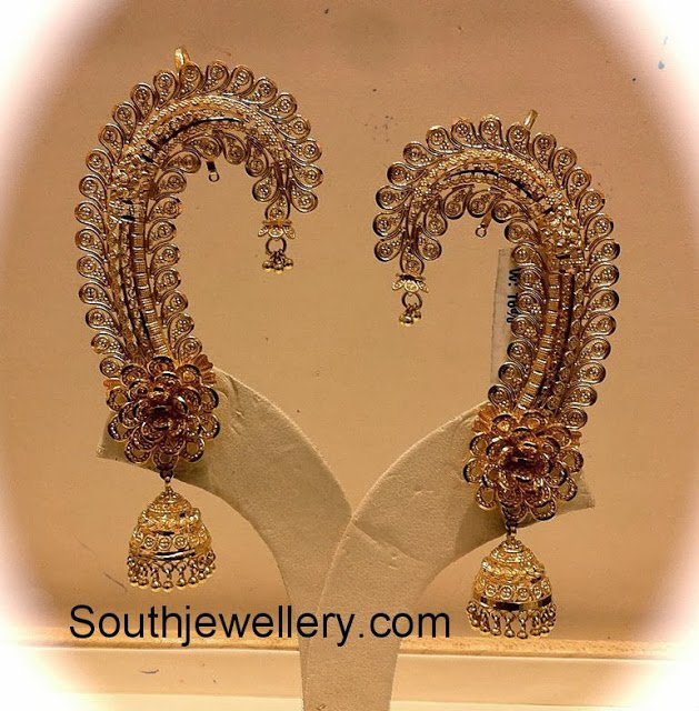 Latest Designer Jhumkas by Nalli