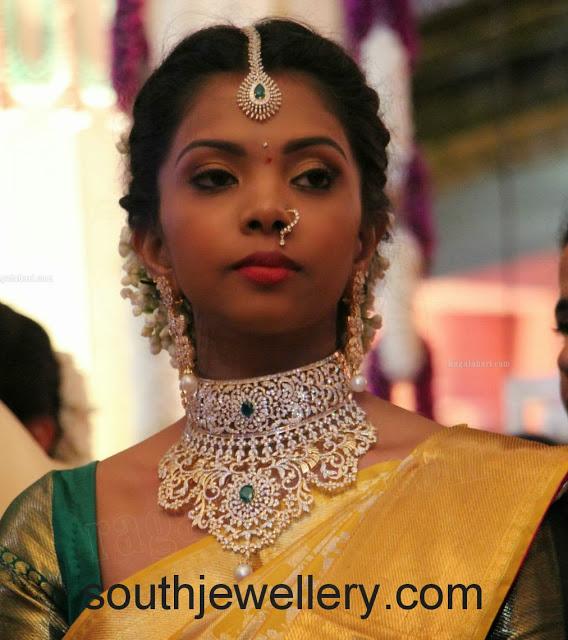 bridal diaomnd jewellery