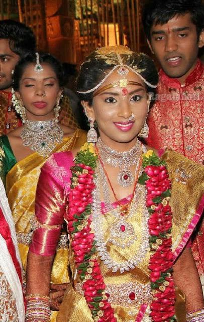 Harini in Diamond Bridal Jewellery