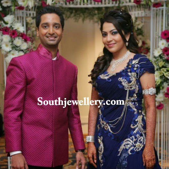 Anchor Ramya Wedding Reception