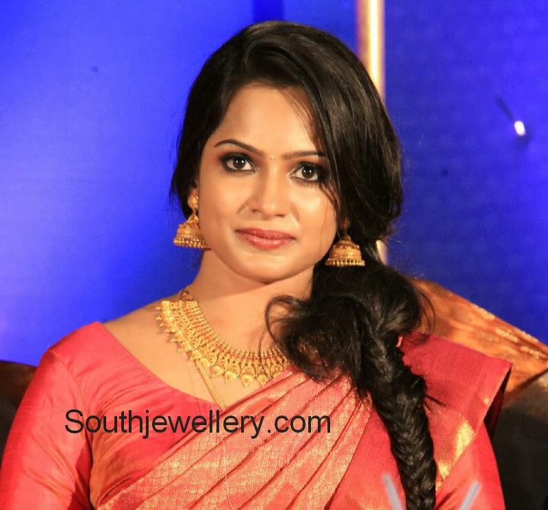 Aju Varghese's Wife Augustina Wedding Jewellery