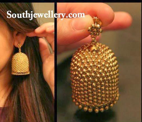how to wear heavy indian earrings