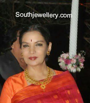 Celebrity Jewellery @ Ahana Deols Wedding Reception