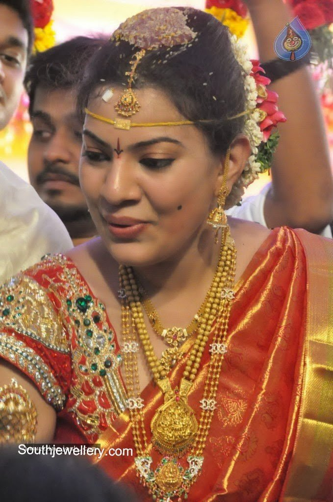 Singer Geetha Madhuri Wedding Jewellery