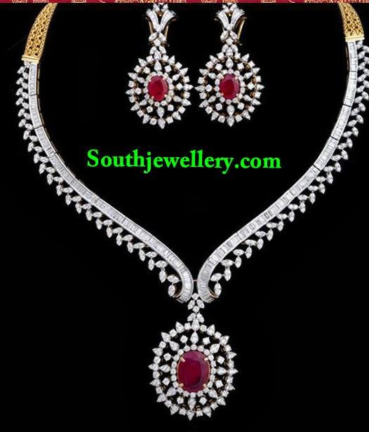 latest diamond necklace