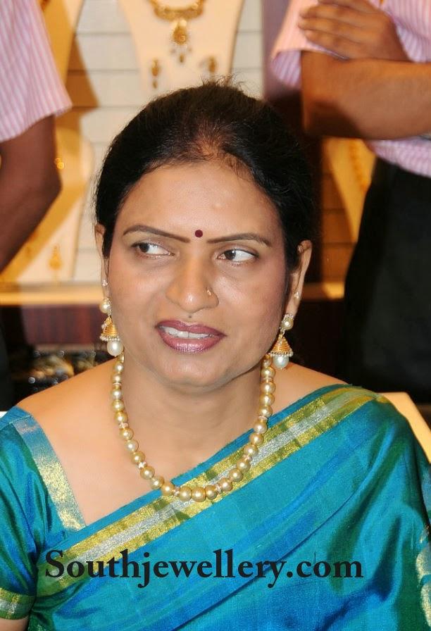 DK Aruna in South Sea Pearls Necklace