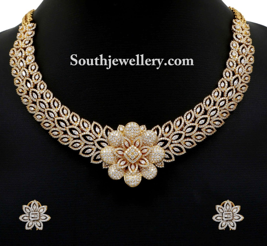 diamond necklace for weddings
