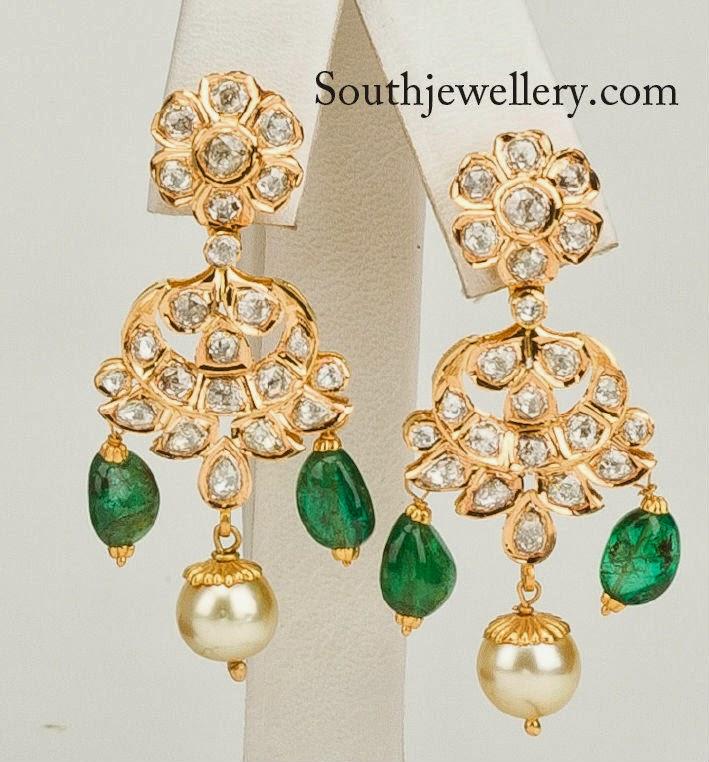 pachi work earrings