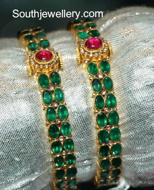 emerald bangles 2014