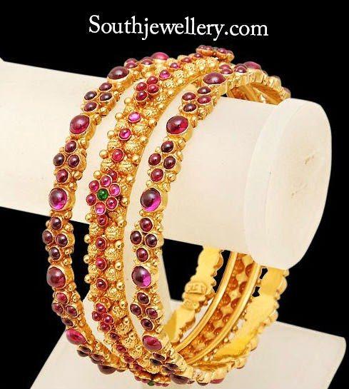 ruby bangles designs
