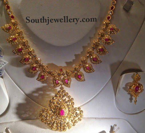 simple uncut necklace