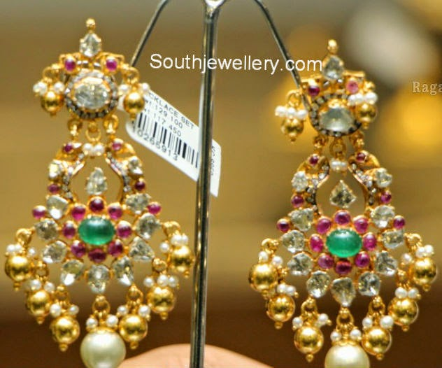 peacock diamond chand balis