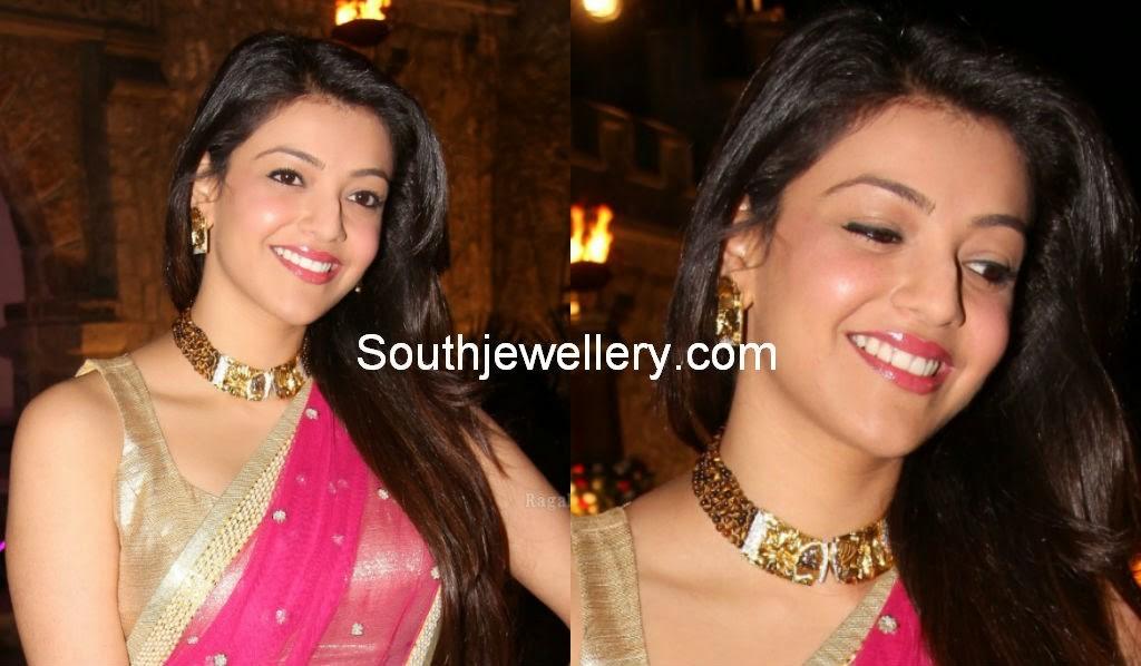 kajal aggarwal at dil raju daughter wedding