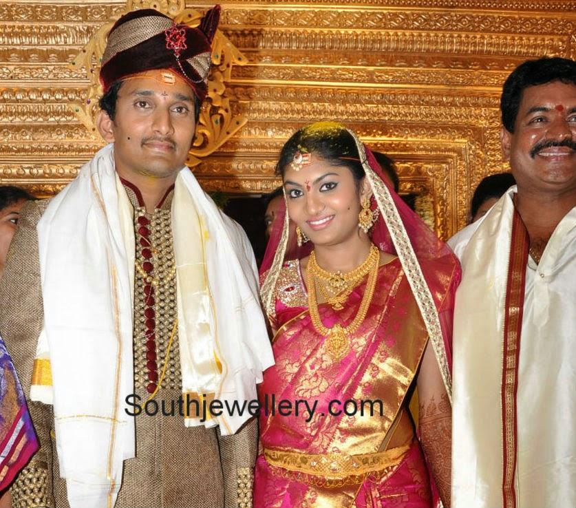 sivaji raja daughter wedding